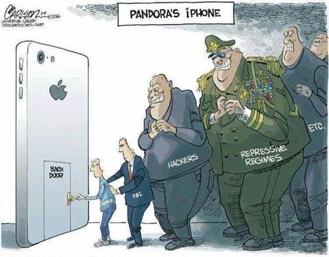 Apple FBI joke
