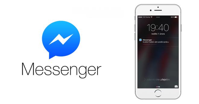 Jak skrýt text zpráv z Messengeru FB