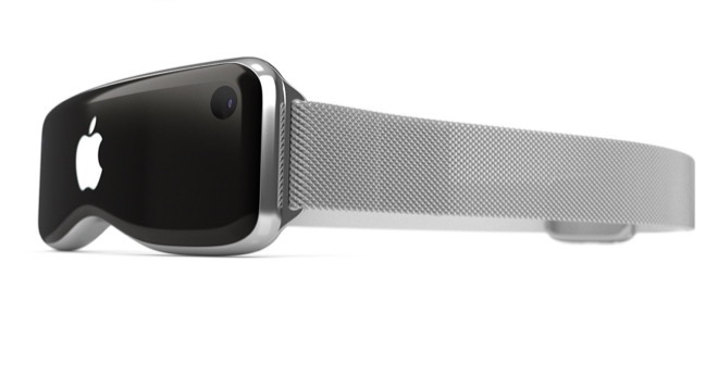 VR bryle Apple 2