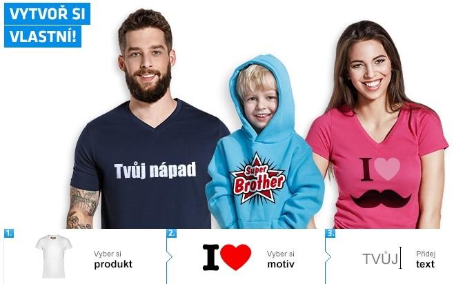 8e29b940fd33 Vytvořte si kryt na iPhone nebo tričko s vlastním potiskem!
