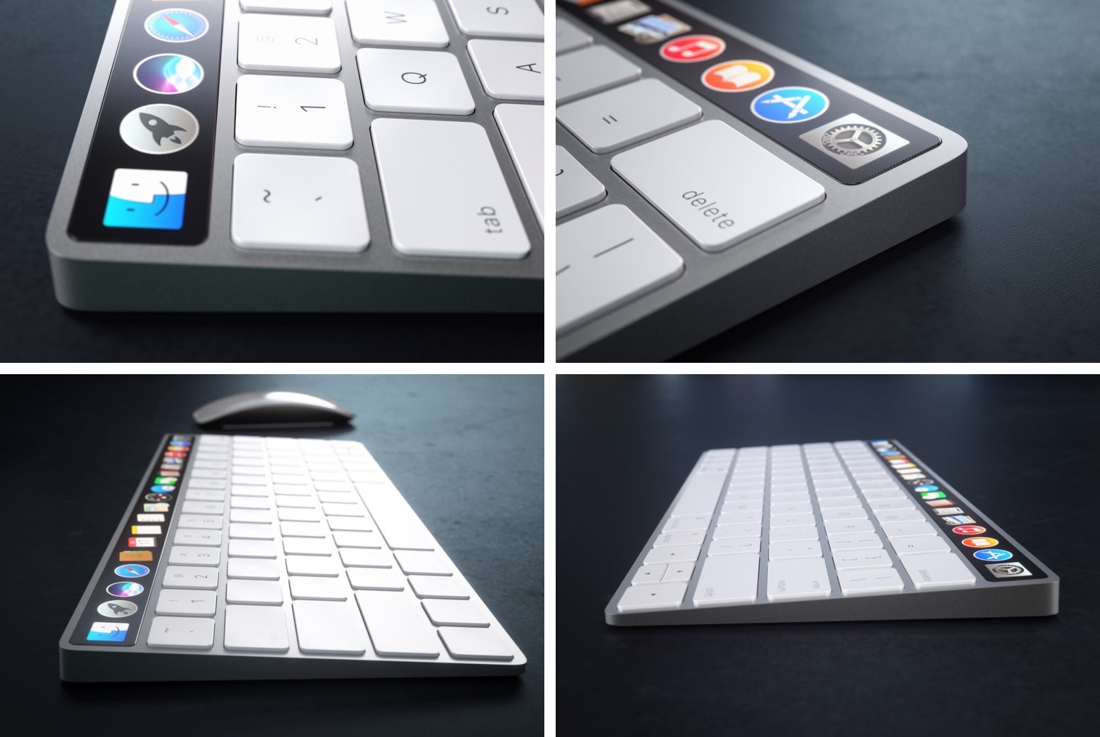 Magic Keyboard s OLED displejom