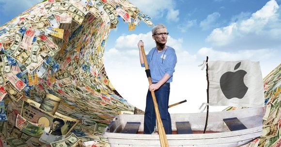 Tim Cook Apple money FB