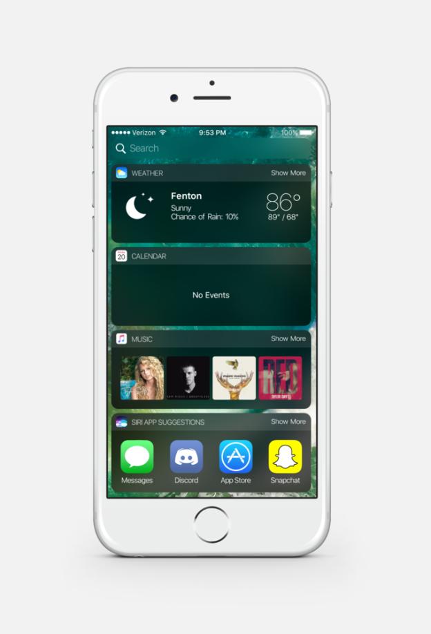 iOS 10 Dark mode 3