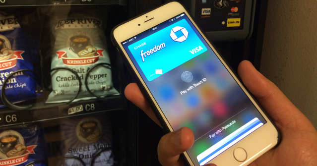 Apple Pay automaty FB