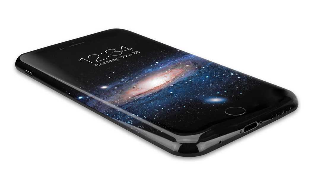 iPhone 8 curved OLED concept 2