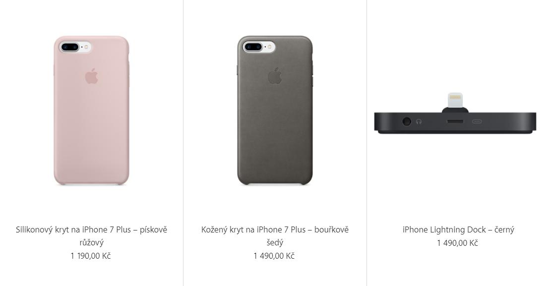 Přehled nového příslušenství pro iPhone 7 a jejich ceny 6af5f4c628e