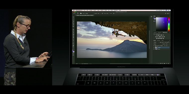 Photoshop Touch Bar fb