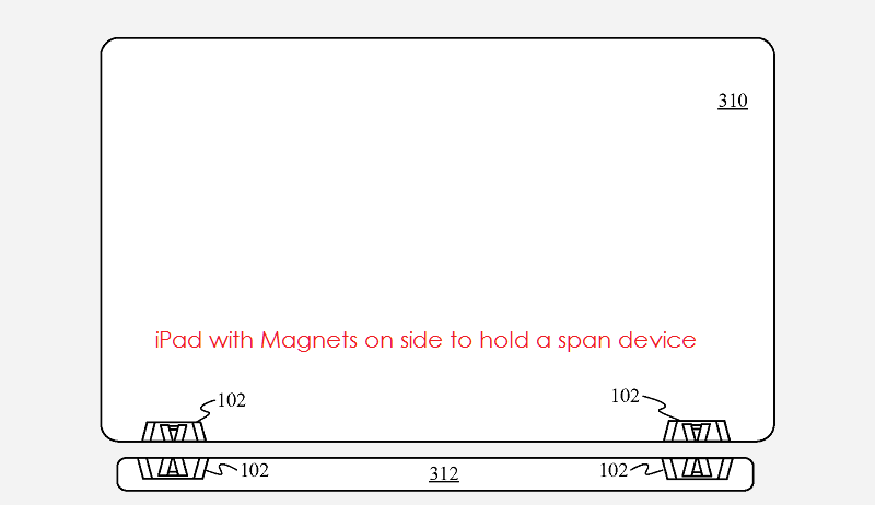 Apple Pencil 2 magnet patent 2