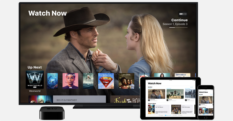 Apple TV shows FB