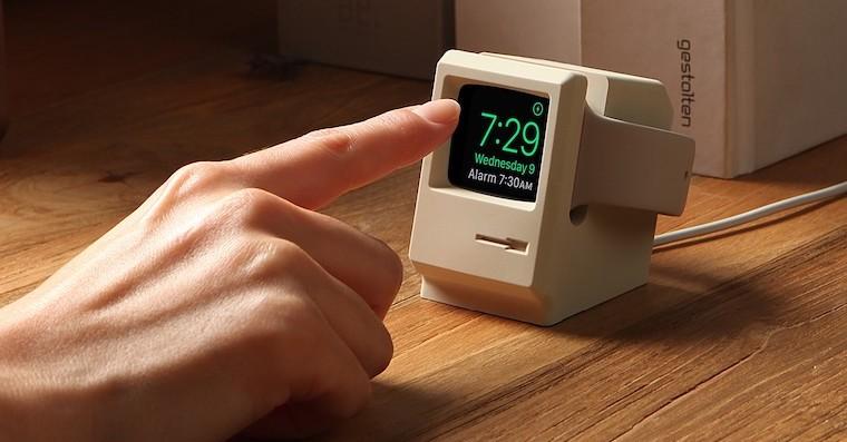 Elago W3 Apple Watch stand FB