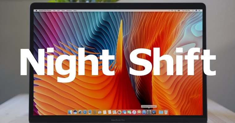 Night Shift macOS Sierra 10.12.4 Mac FB