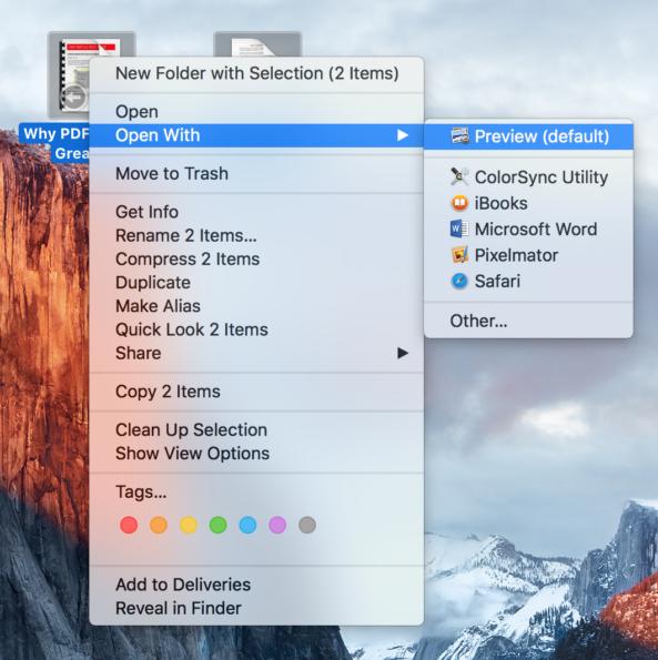 Jak Na MacOS Jednoduše Pomocí Preview Spojit Více PDF Do