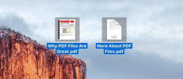 mac os x combine pdf files