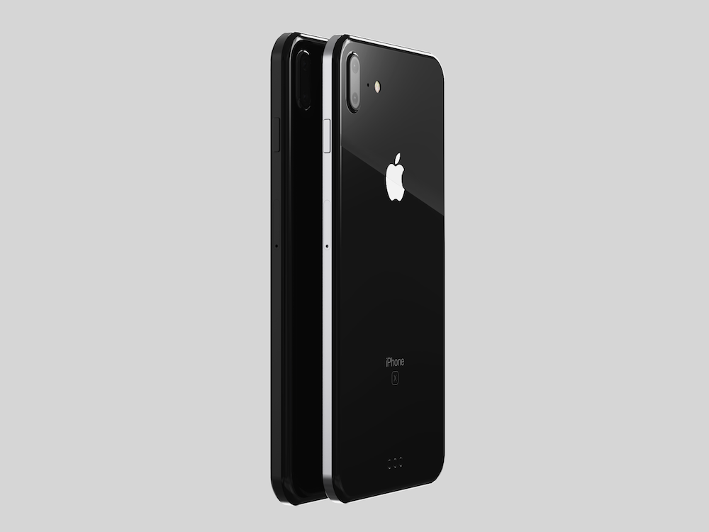 iPhone8 koncept nerezova ocel 8