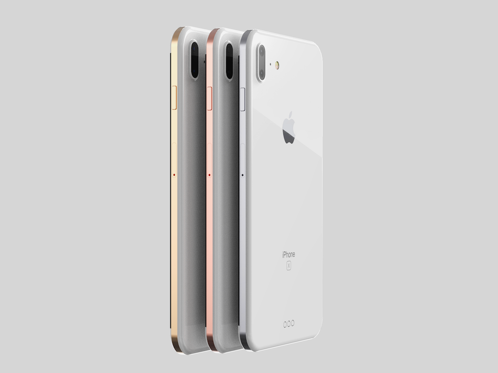 iPhone 8 koncept nerezova ocel 9