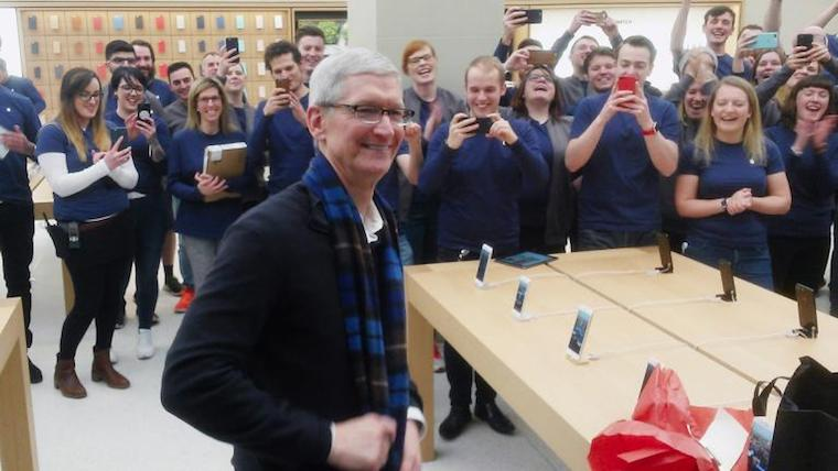 Tim Cook Scotland fb