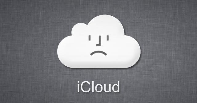 iCloud Sad