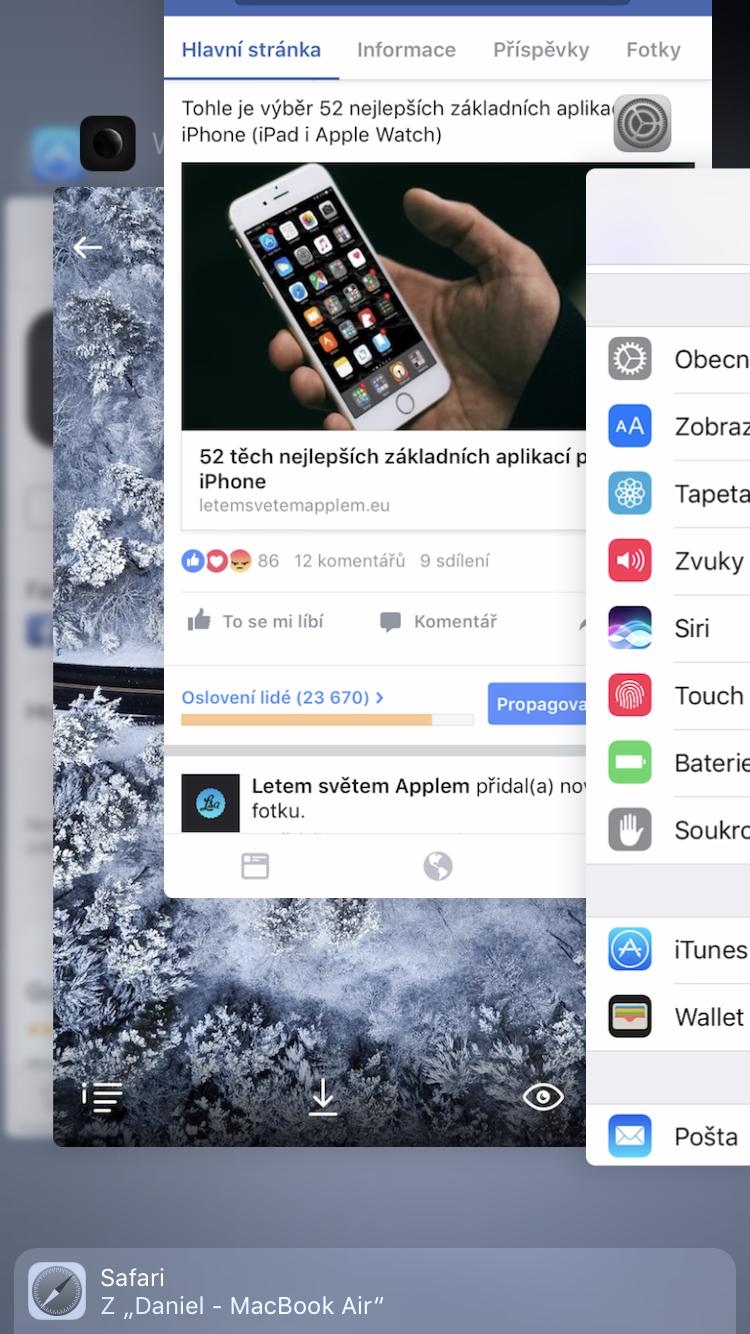 multitasking prepinani aplikaci 2