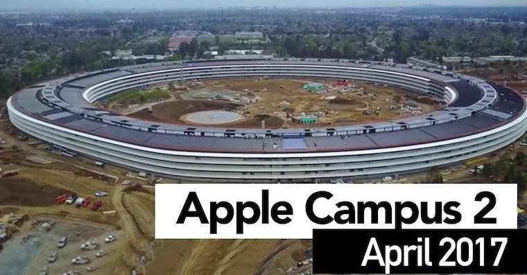 Apple Park April