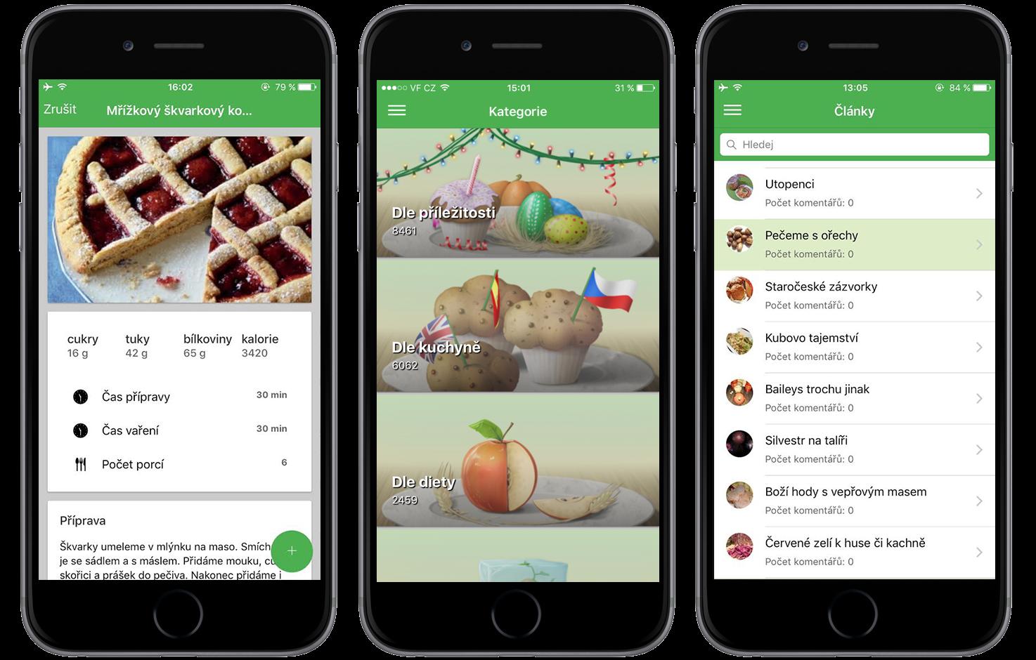 skvělé aplikace pro Android randění při dietě