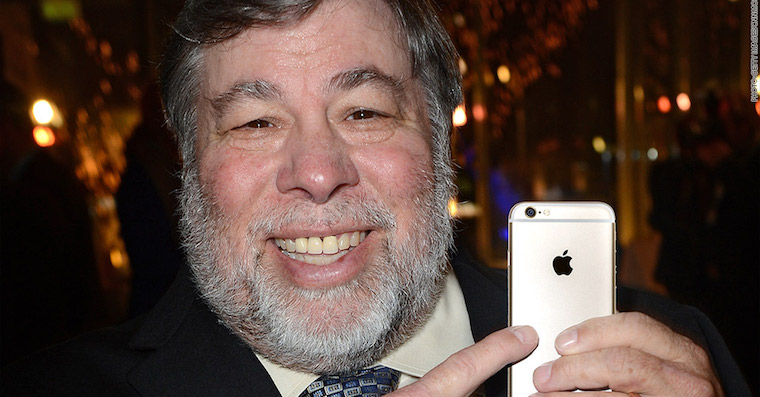 Steve Wozniak iPhone FB