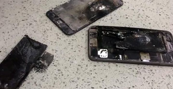iPhone6 Plus battery explode FB