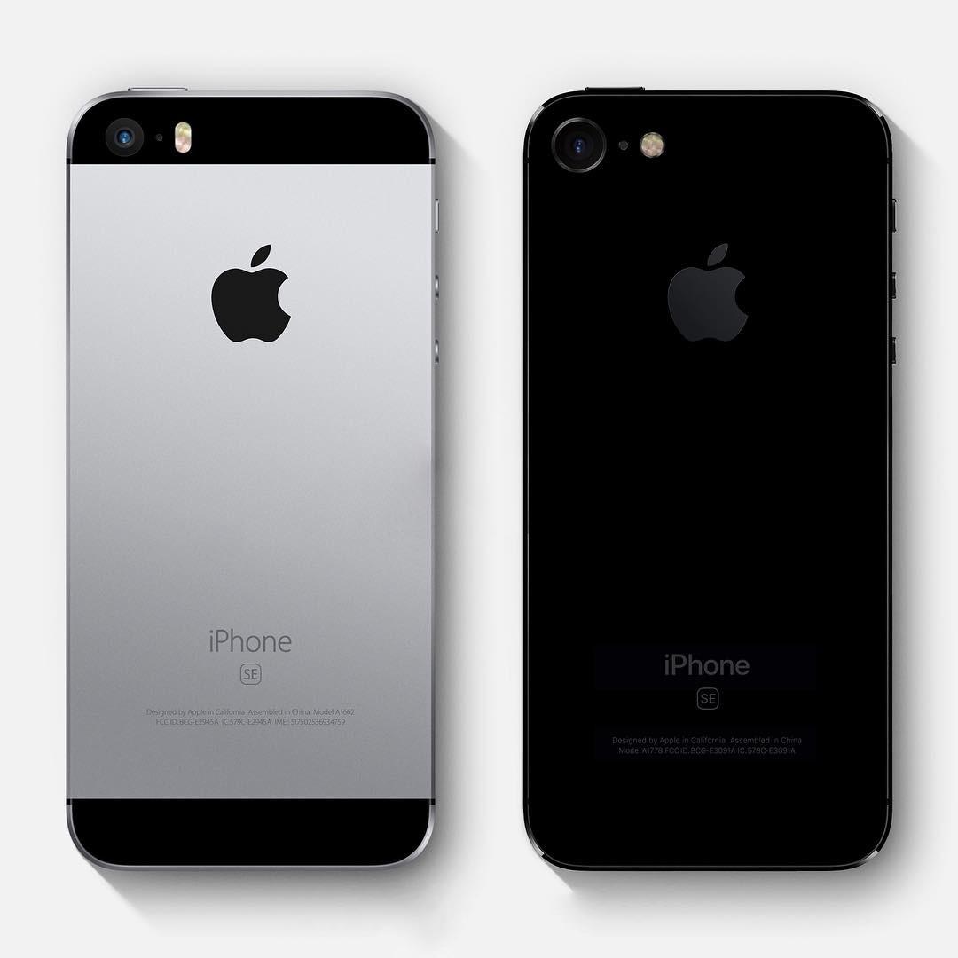 iPhone SE 2 vs iPhone SE