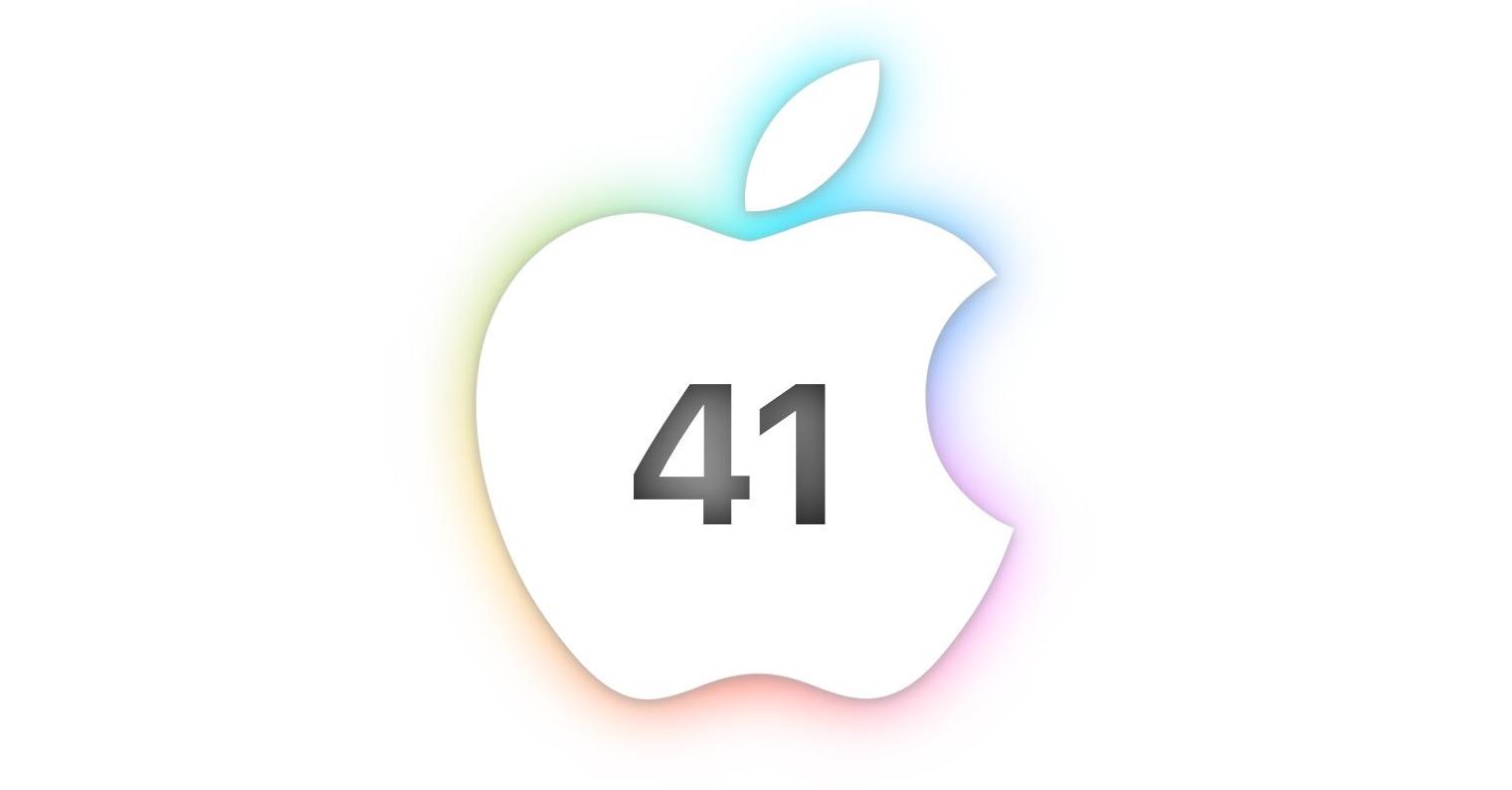 Apple 41 years