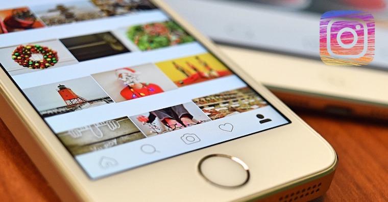 Instagram on iPhone FB