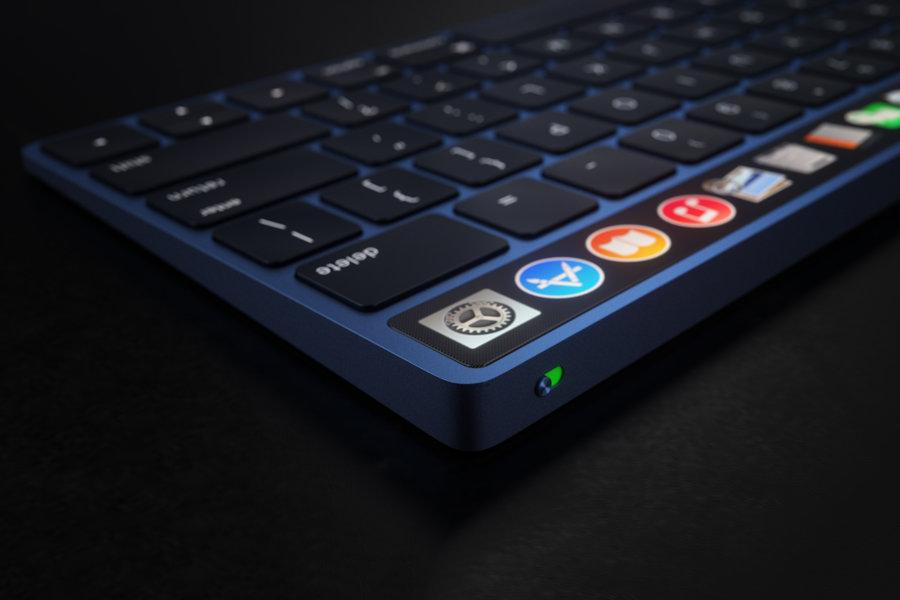 Magic Keyboard Touch Bar concept 1