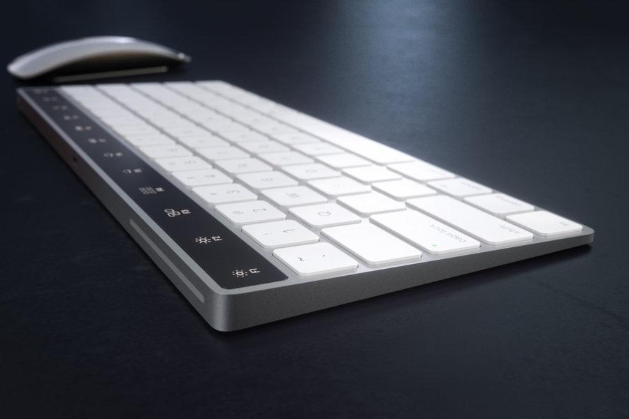Magic Keyboard Touch Bar concept 17