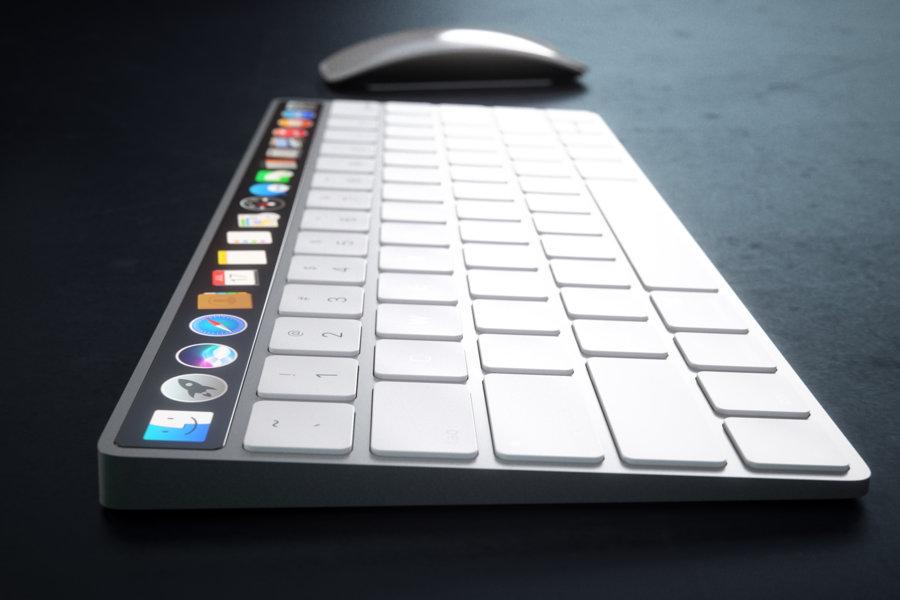Magic Keyboard Touch Bar concept 19