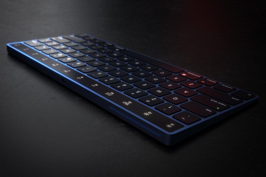 Magic Keyboard Touch Bar concept 5