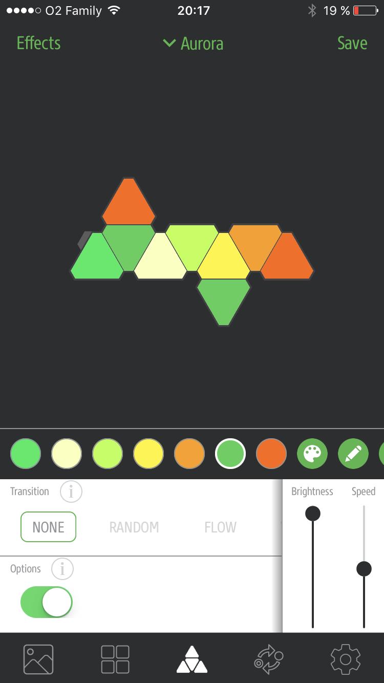 Nanoleaf Aurora app 6