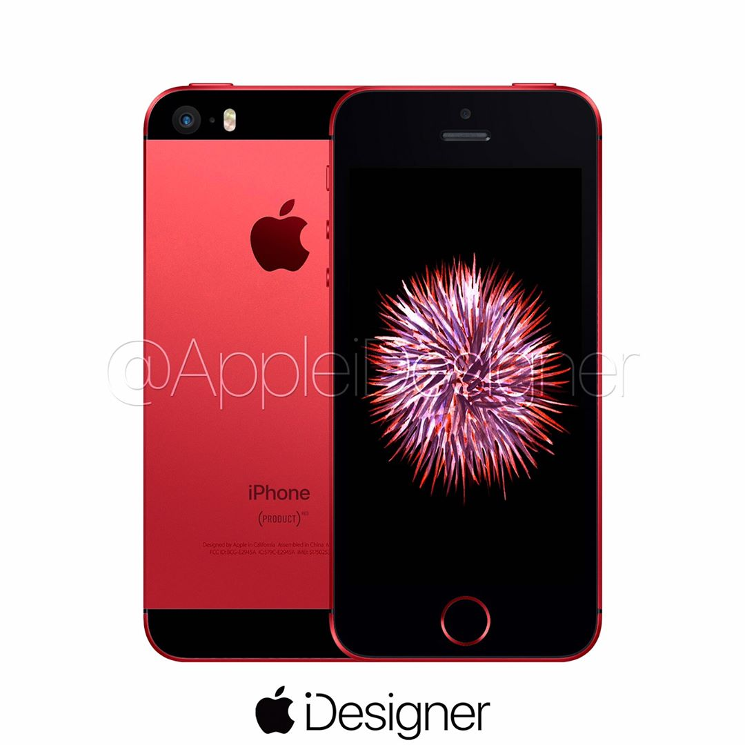 iPhone SE RED 1