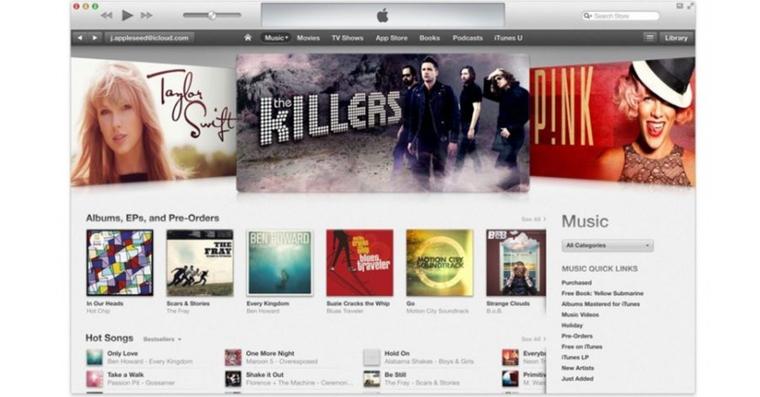 iTunes Music Store FB