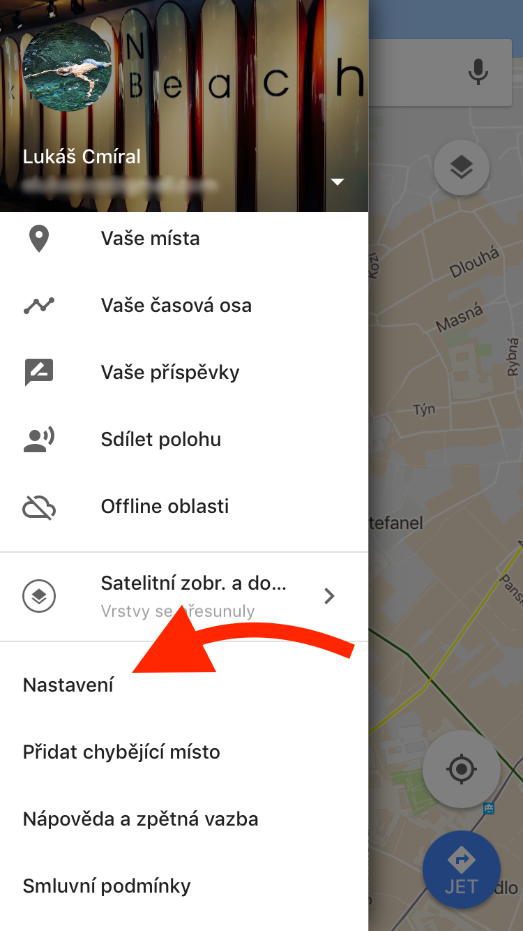 how to delete maps on google history