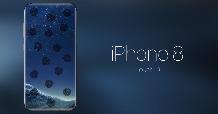iPhone 8 Touch ID everywhere FB