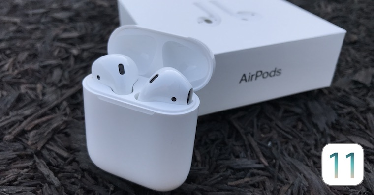 Apple-AirPods-iOS 11 FB