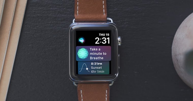 Apple Watch with watchOS 4 FB