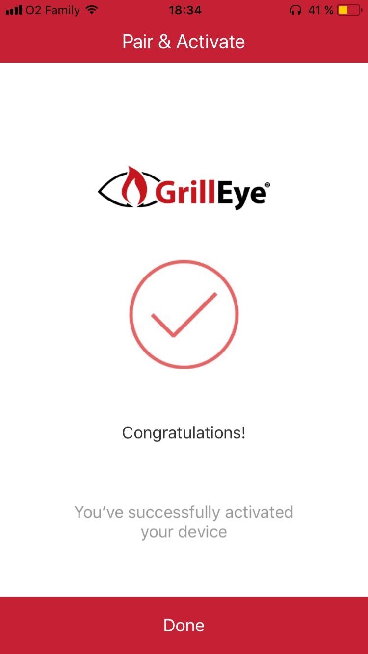 GrillEye aplikace 1