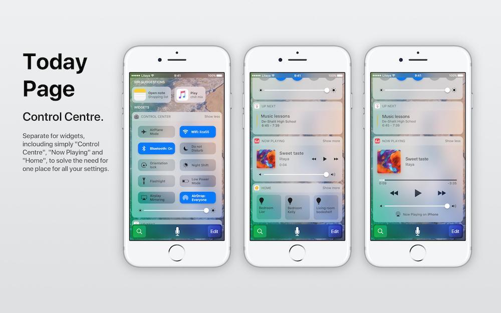 Litaya iOS 11 koncept 6