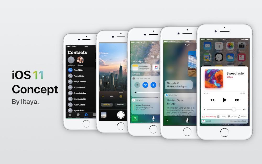 Litaya iOS 11 koncept 7