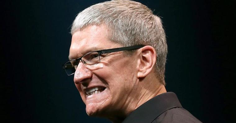 Tim Cook bad FB