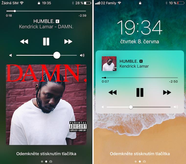 iOS 10 vs iOS 11 srovnani 8