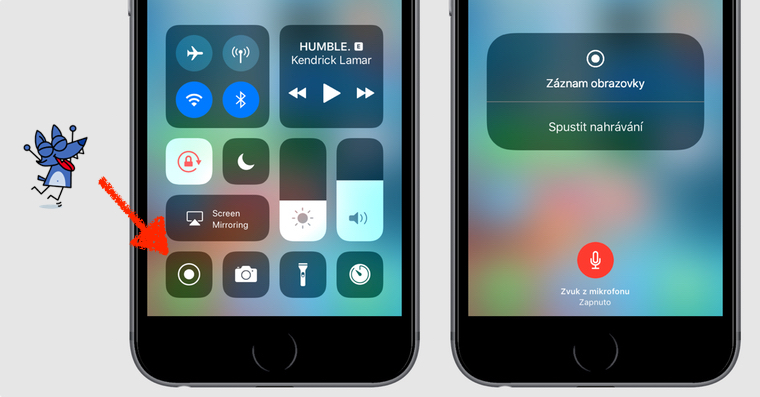 how to have screen recording on iphone 7 plus