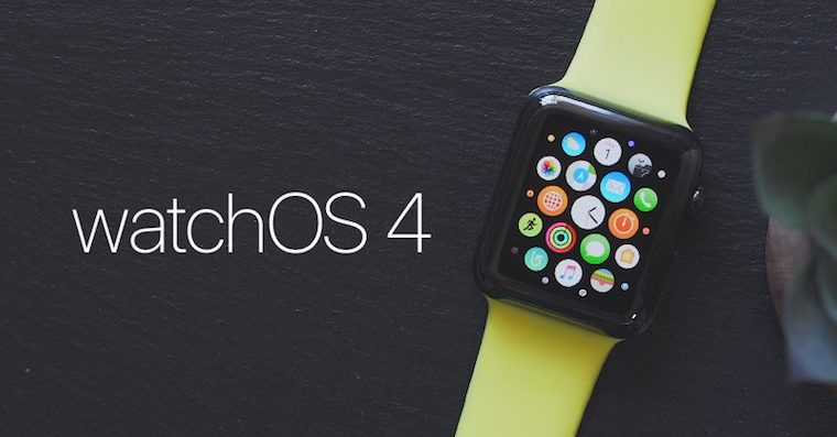 watchOS 4 FB