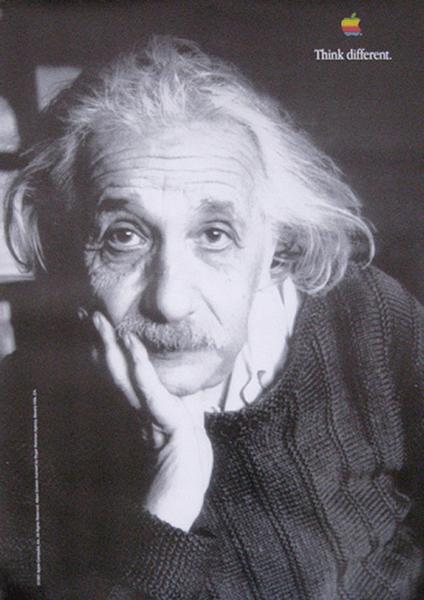 Albert Einstein Think Different