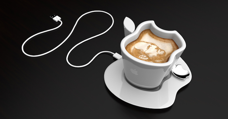 Apple Steve Jobs coffee FB
