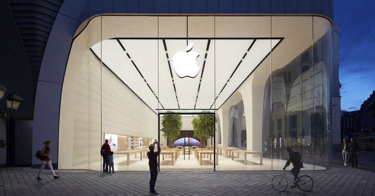 Apple store Brussels FB